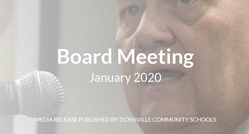 Board Meeting January 2020