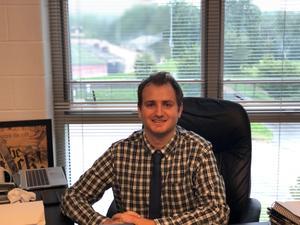Xavier High School music teacher Tyler Lucey, September 2021
