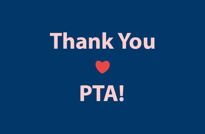 Thank You BW PTA
