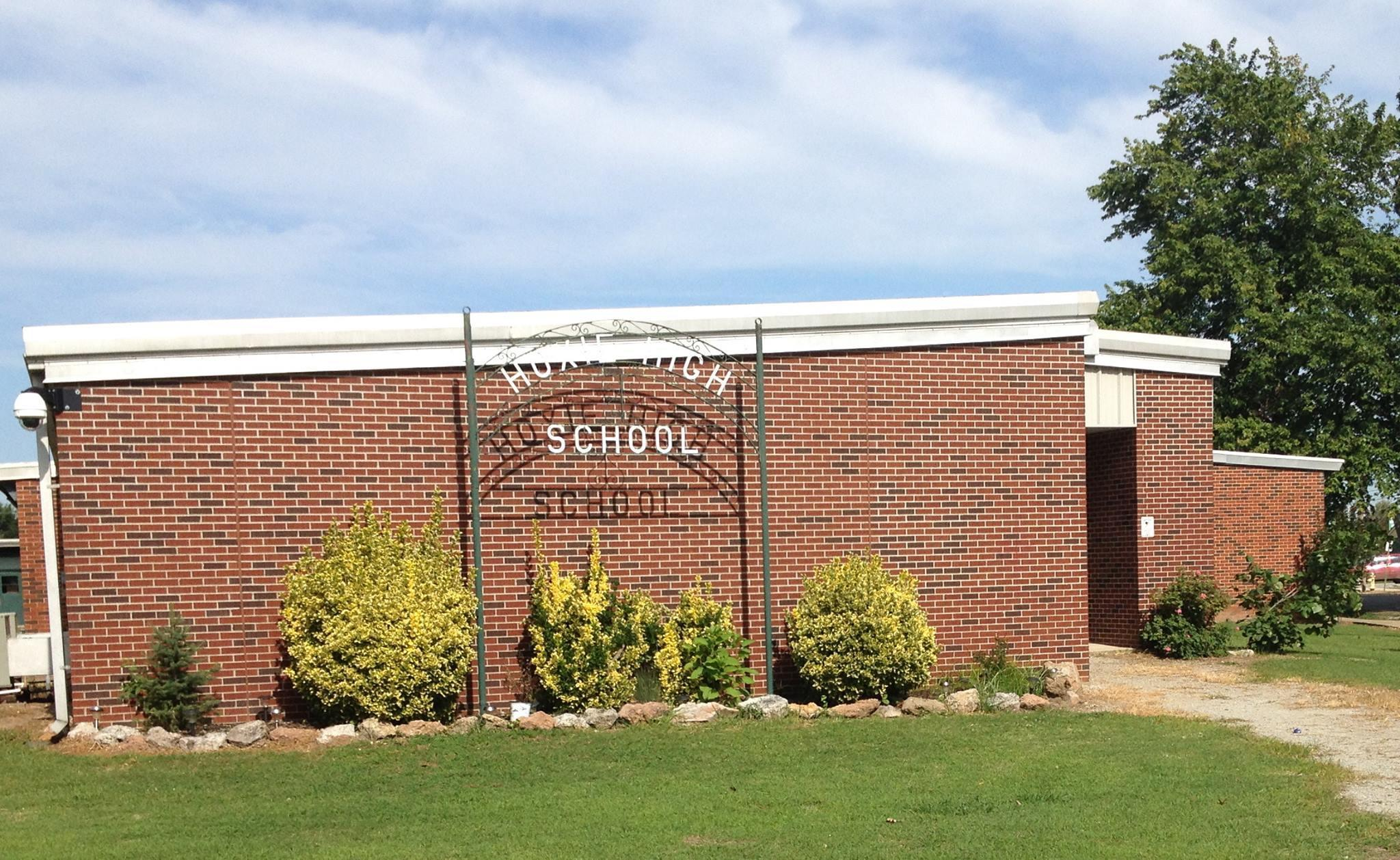 Hoxie High School Sign