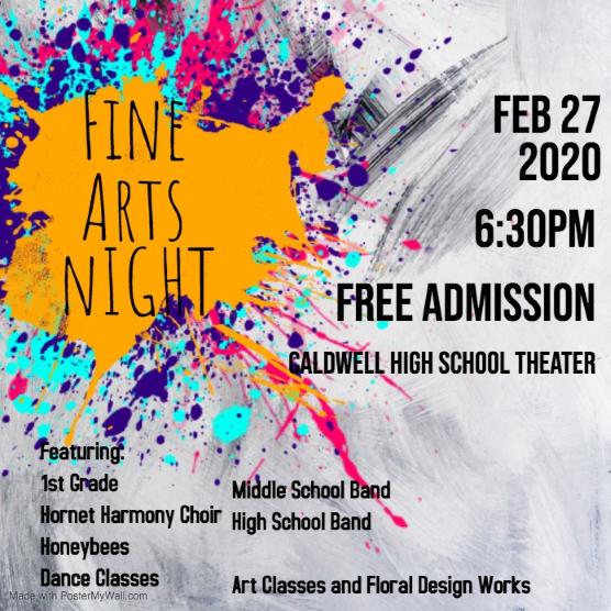 Fine Arts Night Featured Photo