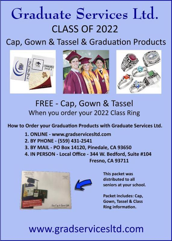 Grad Services Flyer-Cap, Gown, Ring, Tassel