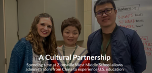 A Cultural Partnership-Spending time at ZWMS allows administrators from China to experience U.S. education