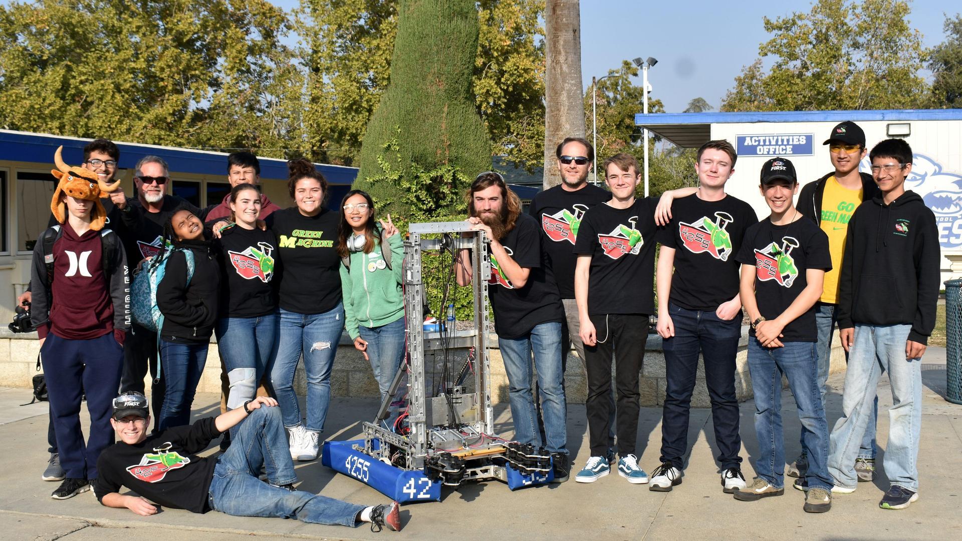 Robotics Team Members