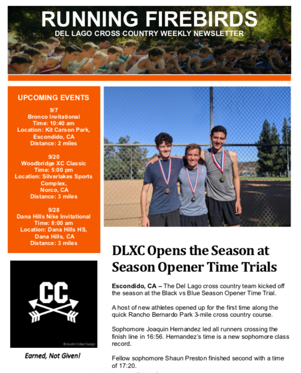 Cross Country – Cross Country – Del Lago Academy - Campus of
