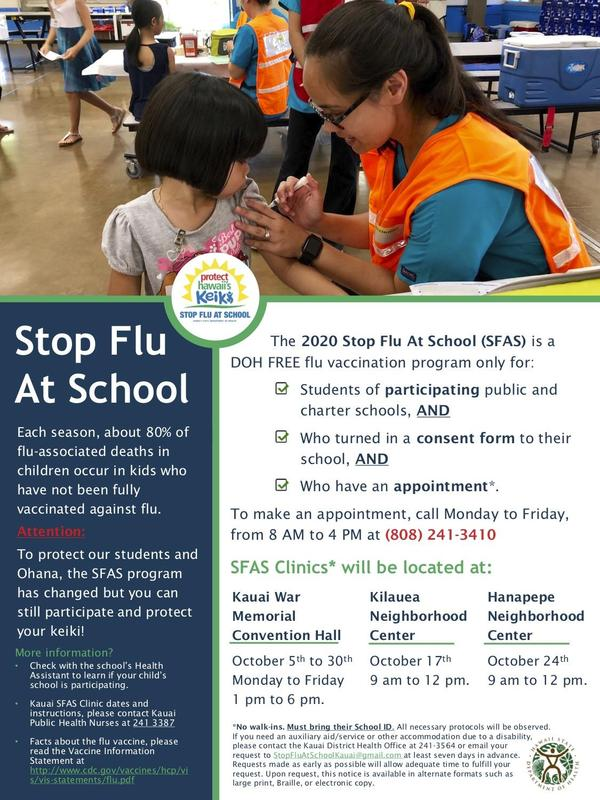 Stop Flu At School 2020 Has Been Moved Thumbnail Image