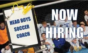 boys soccer coach job search