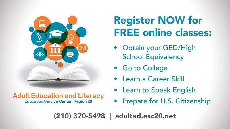 Adult Education and Literacy. Register now for FREE online classes.