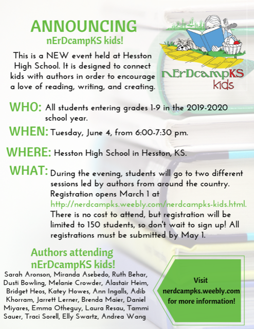 nErDcampKS Kids Registration Open Thumbnail Image