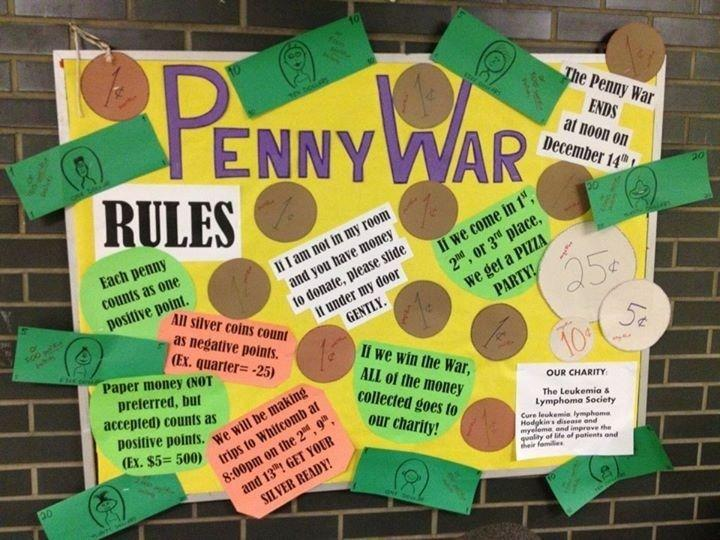 Penny War March 1st- March 8th Featured Photo