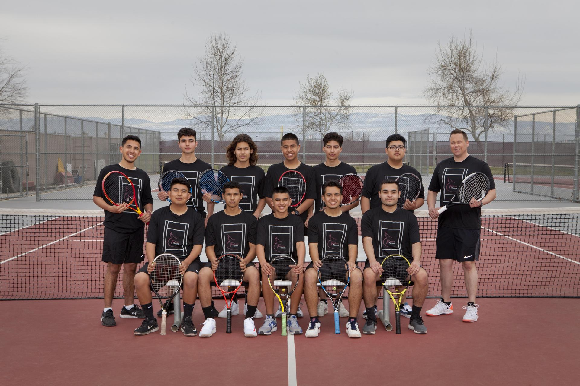 Varsity boys tennis 2019