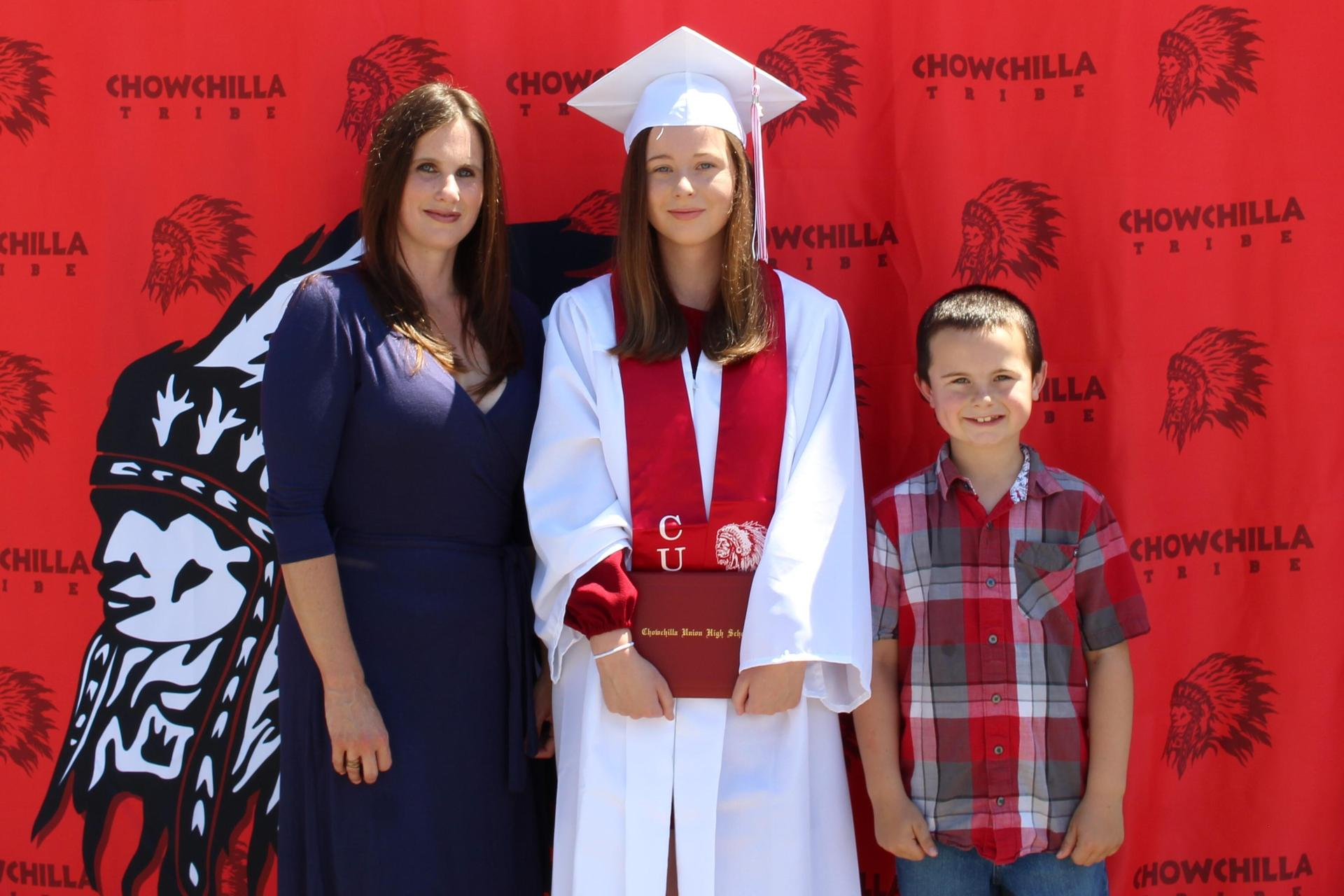 Taylor Jensen and family