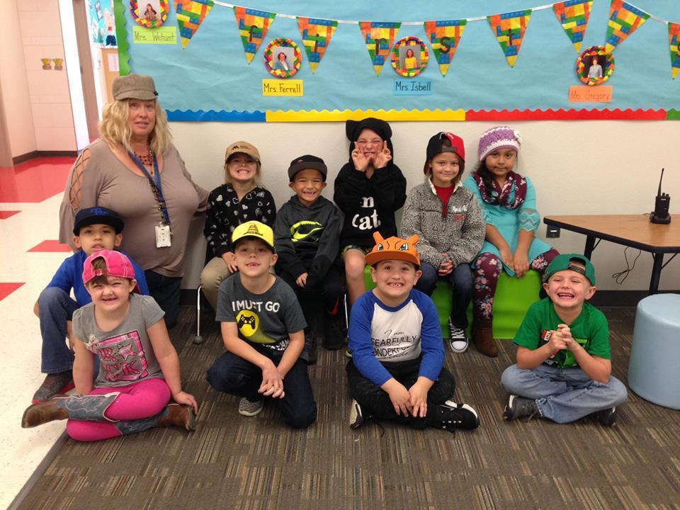 Mrs. Bryan's class Hats off to drugs
