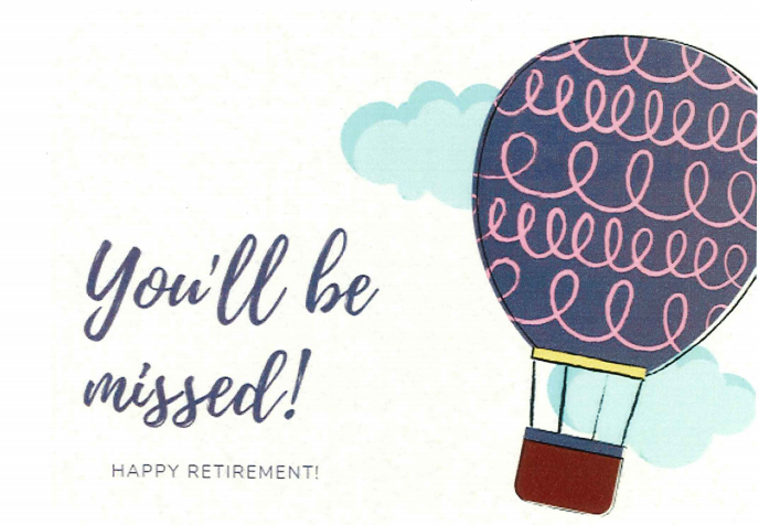 Retirement, Ms. Hutto