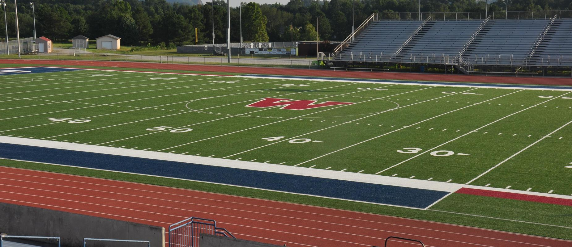 New turf at Woodland High School