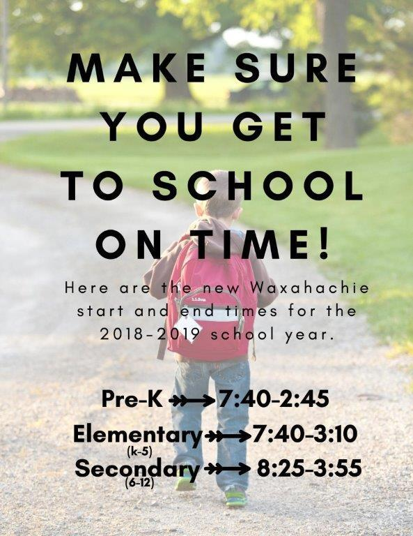 Get to School on time! Featured Photo