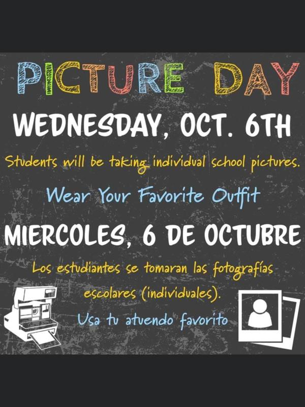 school picture day oct 6