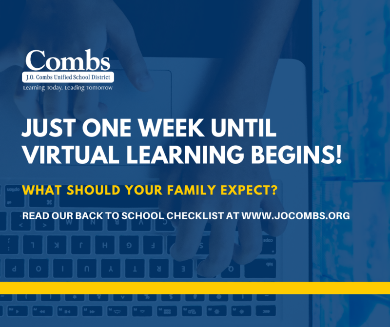 Virtual Learning One Week