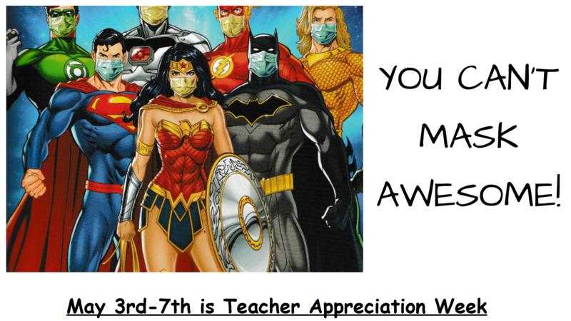 Teacher Appreciation Week May 3rd thru 7th, 2021 Featured Photo