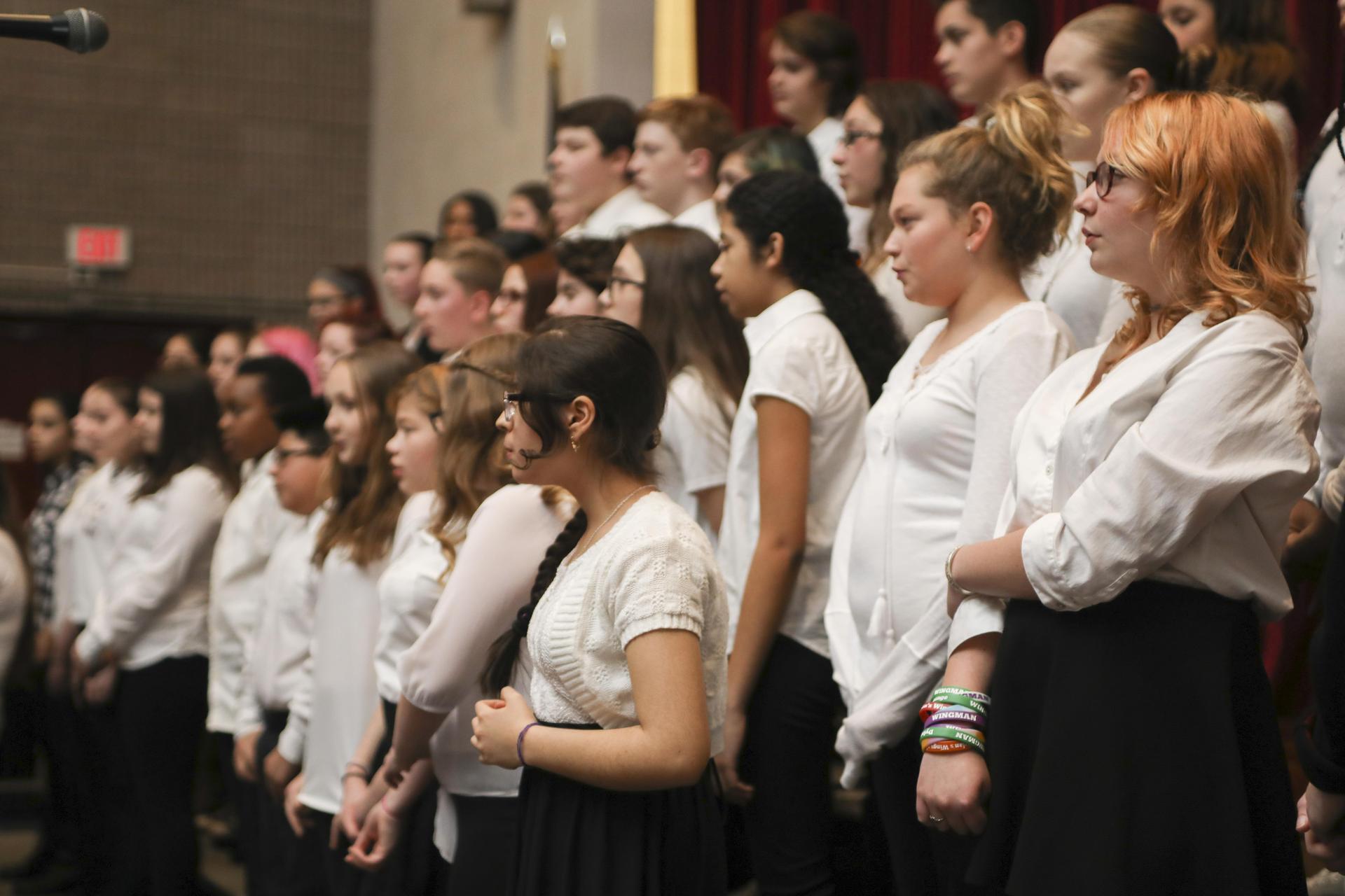 Students music performance