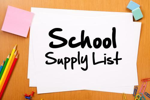 2020-2021 Midkiff School Supply Lists Featured Photo