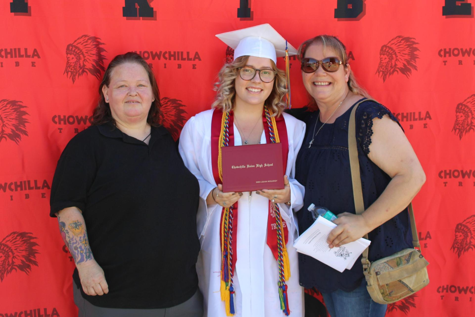 Emma McCluskey and family