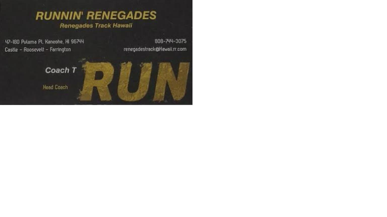 Renegades T/F