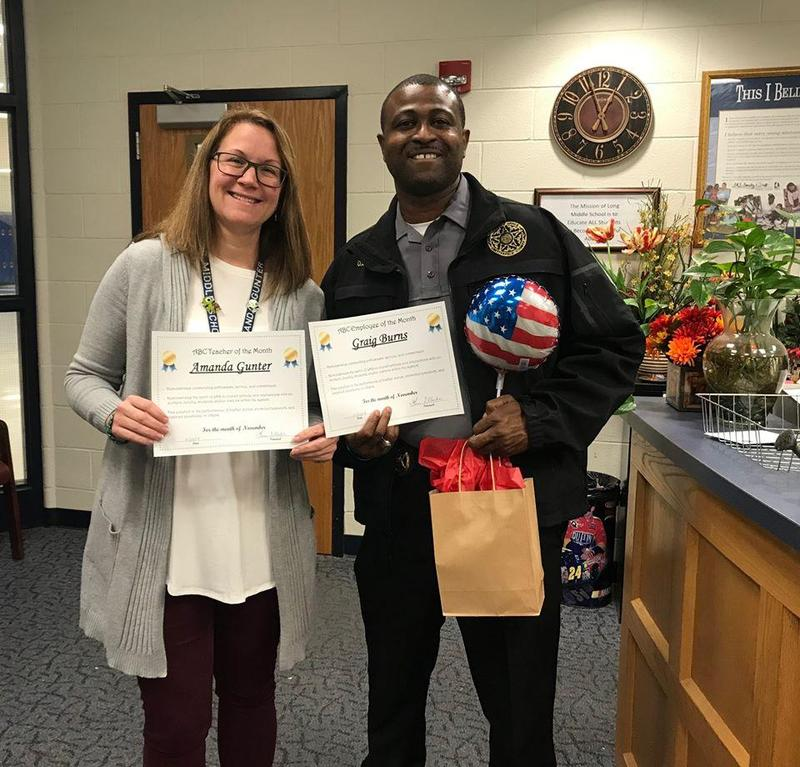 November's ABC Staff & Teacher of the Month Featured Photo