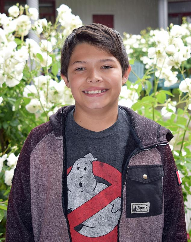 Jade L'Heureux, Eagle Peak Middle School sixth-grader, qualified for the 68th Annual California State Science and Engineering Fair in Los Angeles, CA with his project,
