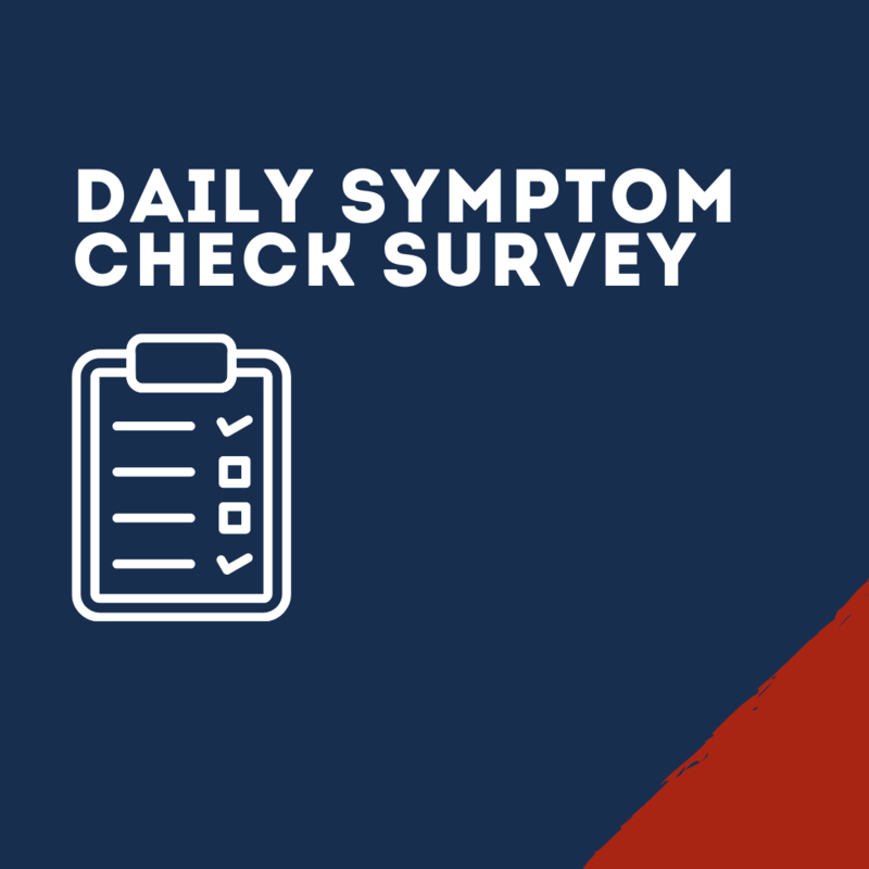 Daily Symptom Check Survey Thumbnail
