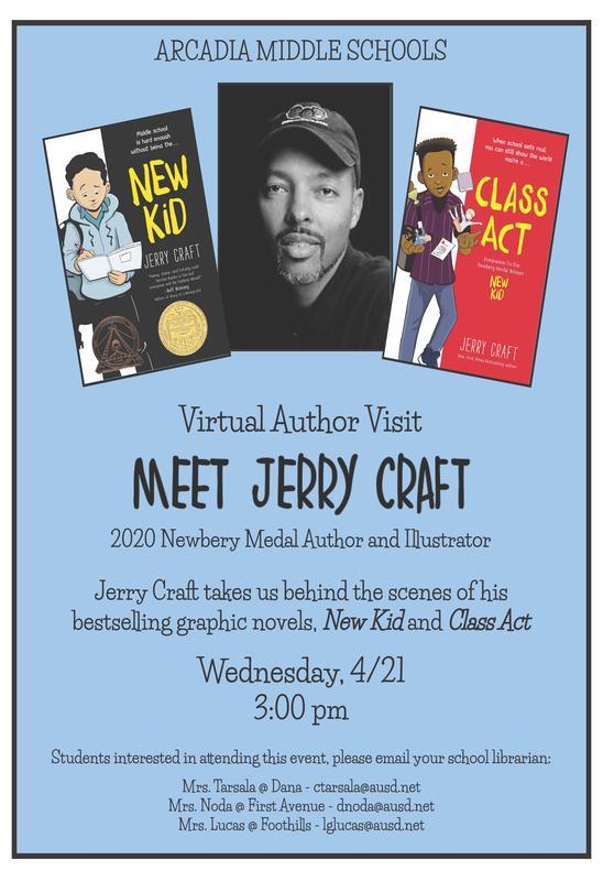Meet the Author Jerry Craft