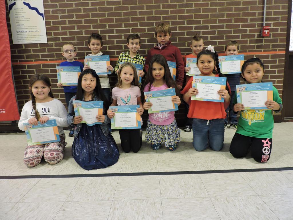 1st Grade Terrific Kids