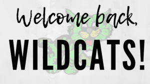 welcome back wildcats banner