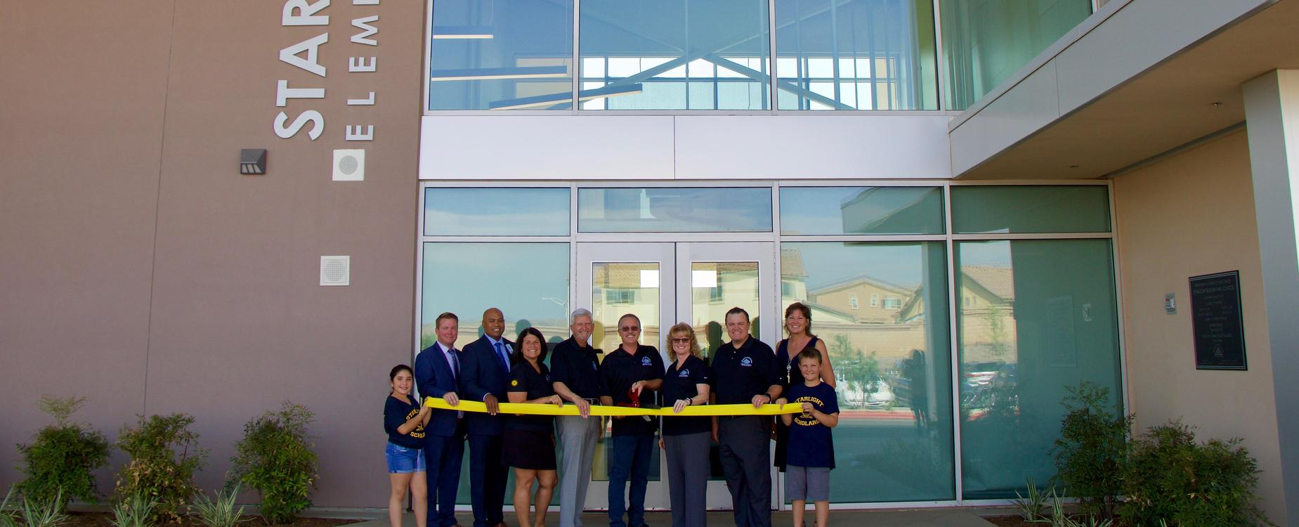 Starlight Elementary Ribbon Cutting