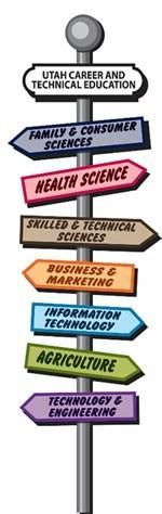 Multiple signs for CTE programs