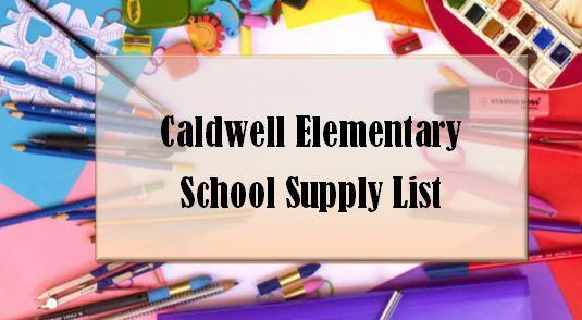 CES School Supply List