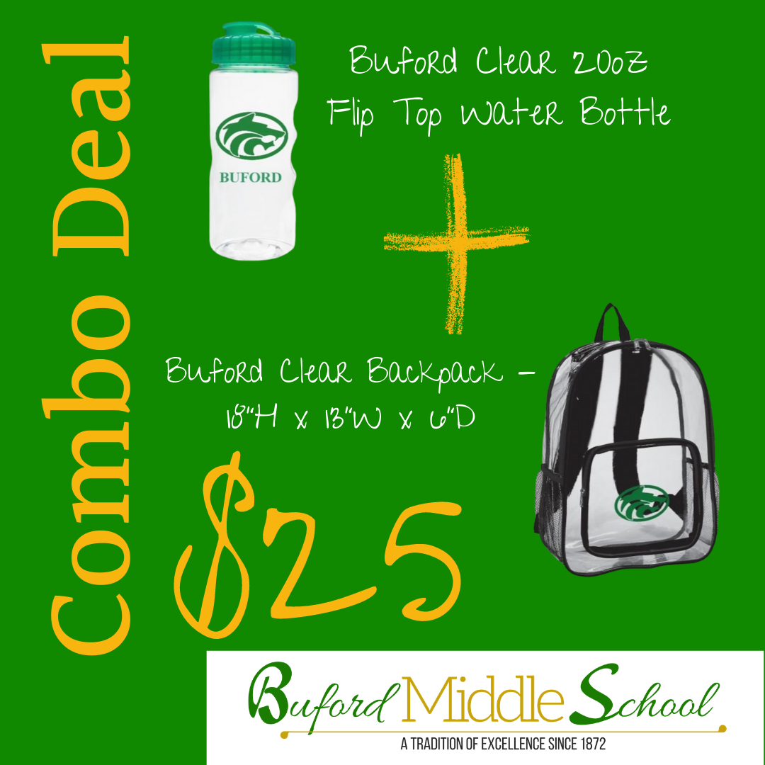 Water Bottle & Back Pack Combo Deal