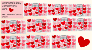 Compliment Jars collage