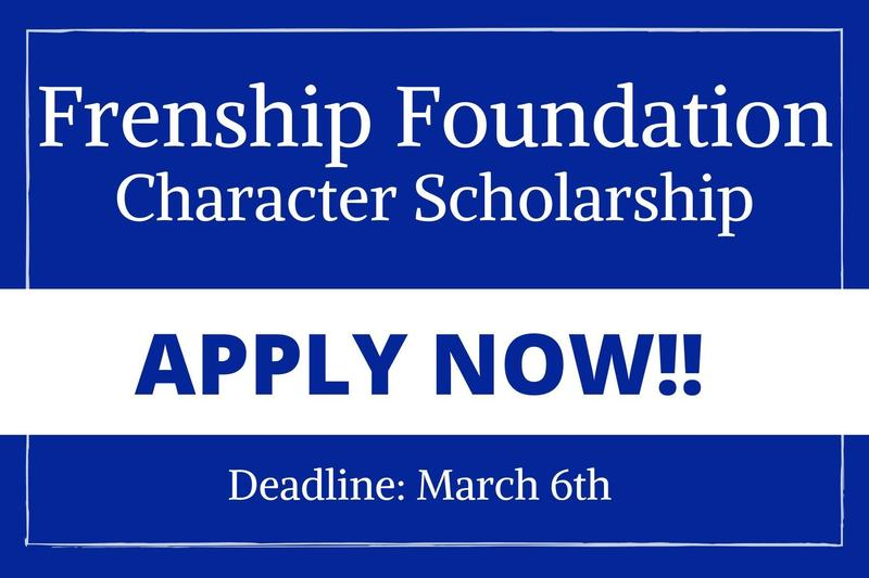 character scholarship application now open