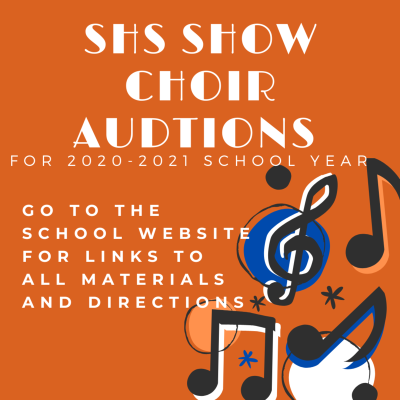 Show Choir Auditions for the 2020-2021 School Year Thumbnail Image