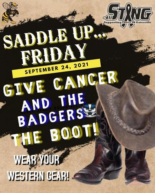 Friday Football Wear --- Give Cancer the Boot! Featured Photo