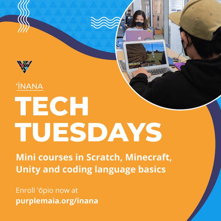 Tech Tuesdays Flyer