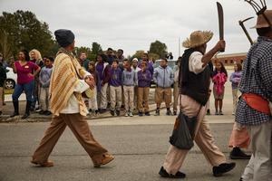 Slave Rebellion Reenactment