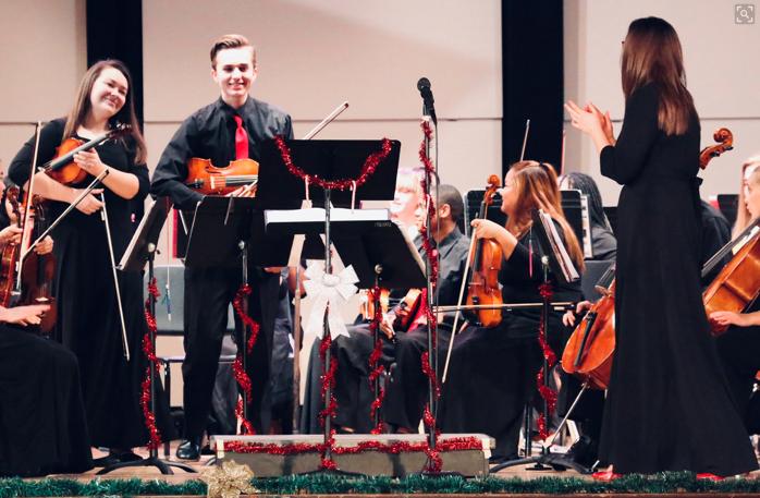 Orchestra Winter Program photo