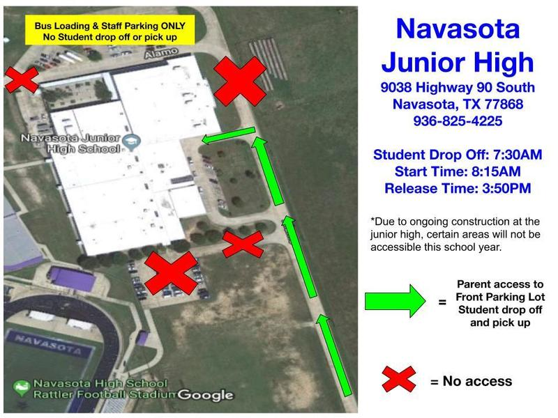 NJH Parent Drop off /Pick Up Information Featured Photo