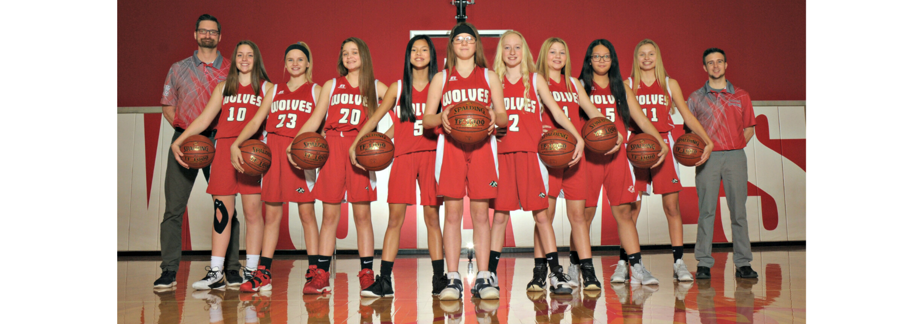picture of rsms girls basketball team