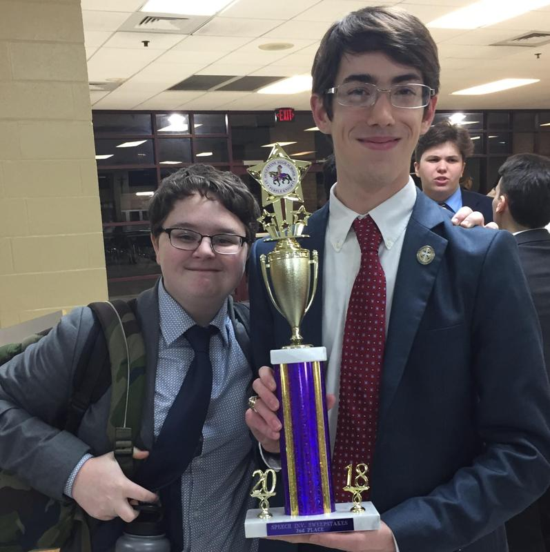Debate Team Places Second in St. Augustine Tournament Featured Photo