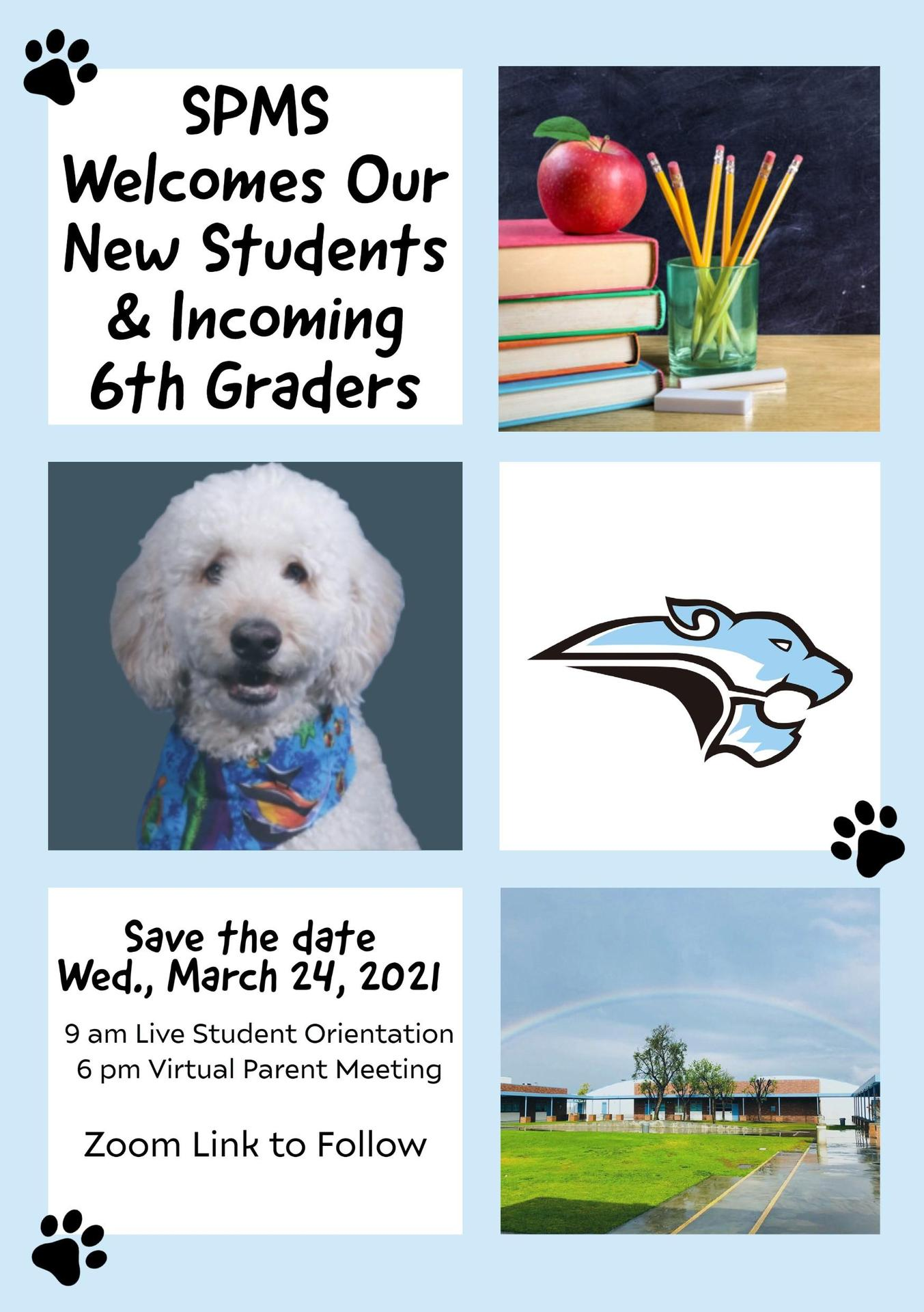 South Pointe Incoming 6th Grade Orientation