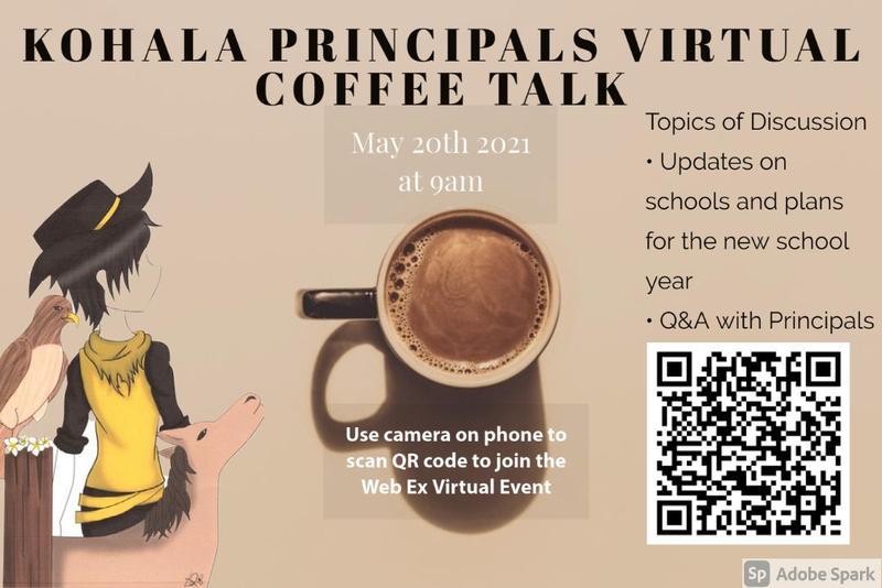 May 2021 Principals Coffee Talk