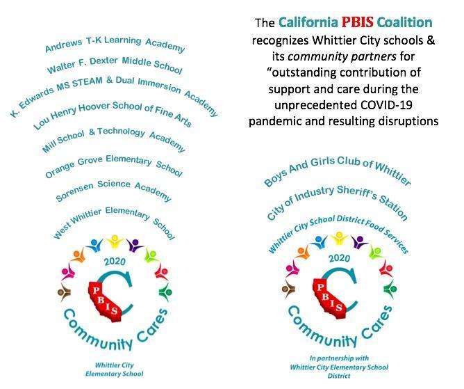 Community Cares Recognition 2020